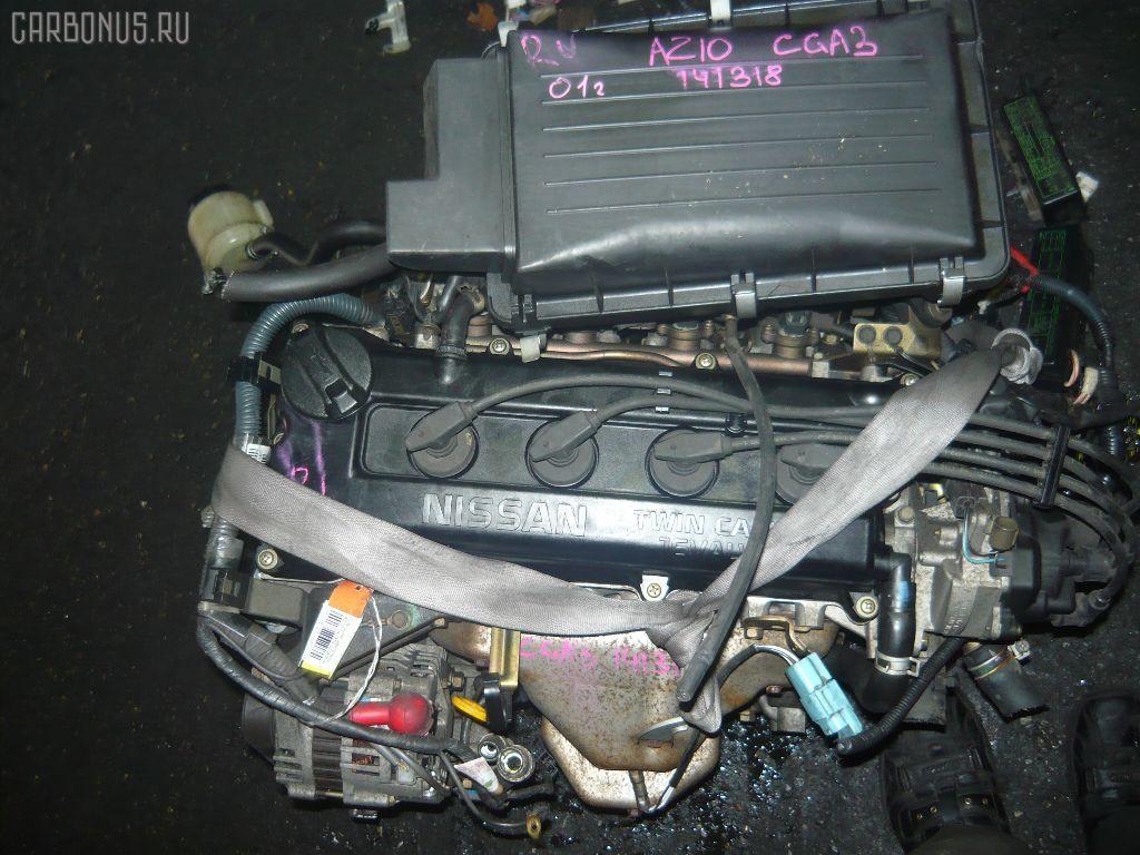 Двигатель NISSAN CUBE AZ10 CGA3DE. Фото 11