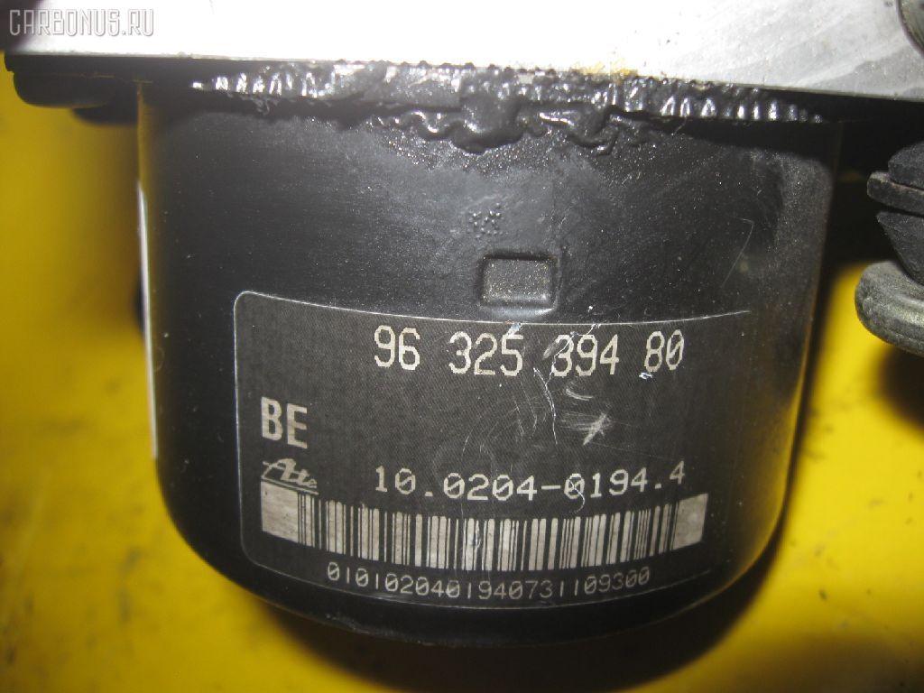 Блок ABS PEUGEOT 206 2ANFU NFU-TU5JP4 Фото 2