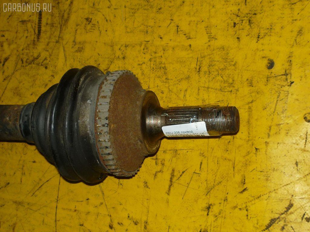 Привод PEUGEOT 206 2ANFU NFU-TU5JP4 Фото 1