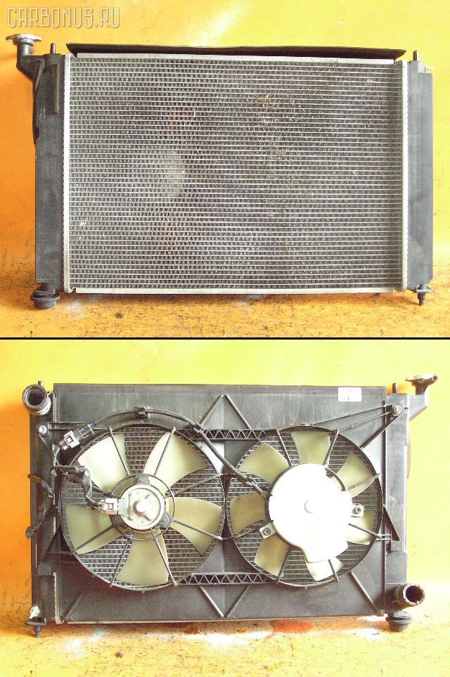 Радиатор ДВС TOYOTA ALLION ZZT240 1ZZ-FE. Фото 1