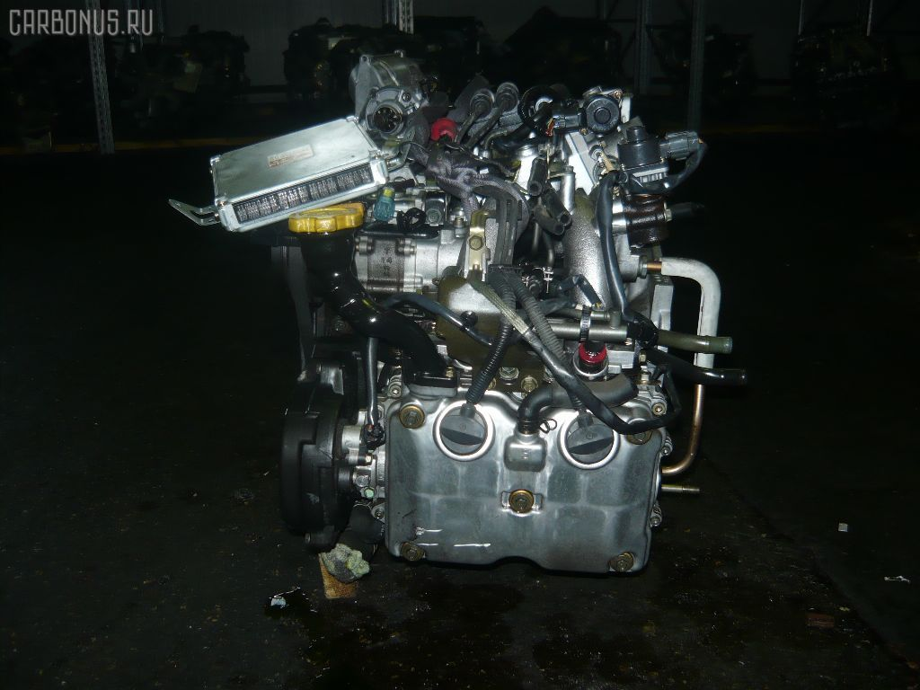 Двигатель SUBARU LEGACY WAGON BH5 EJ202. Фото 8