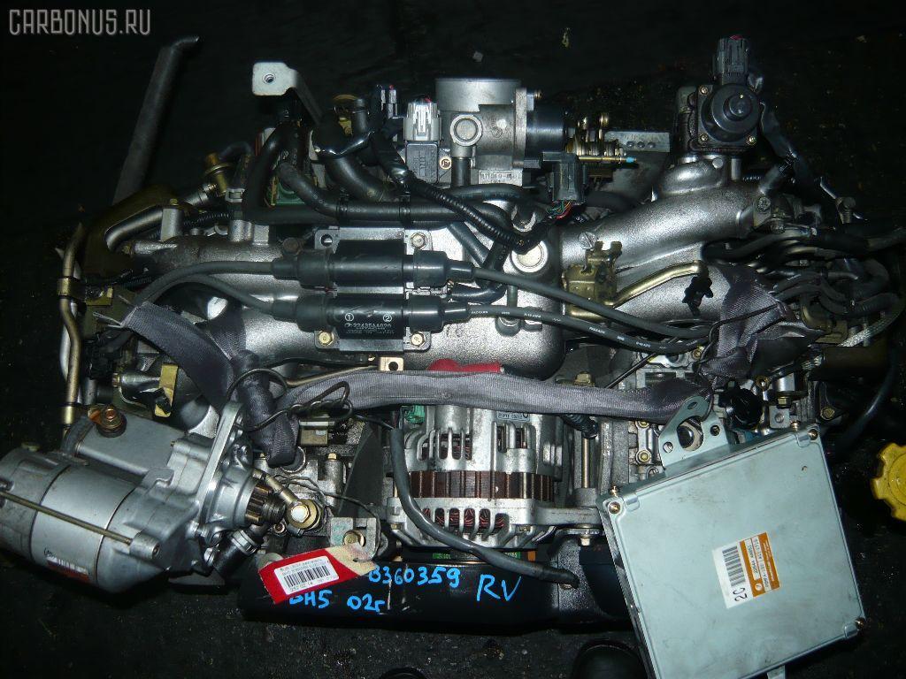 Двигатель SUBARU LEGACY WAGON BH5 EJ202. Фото 11
