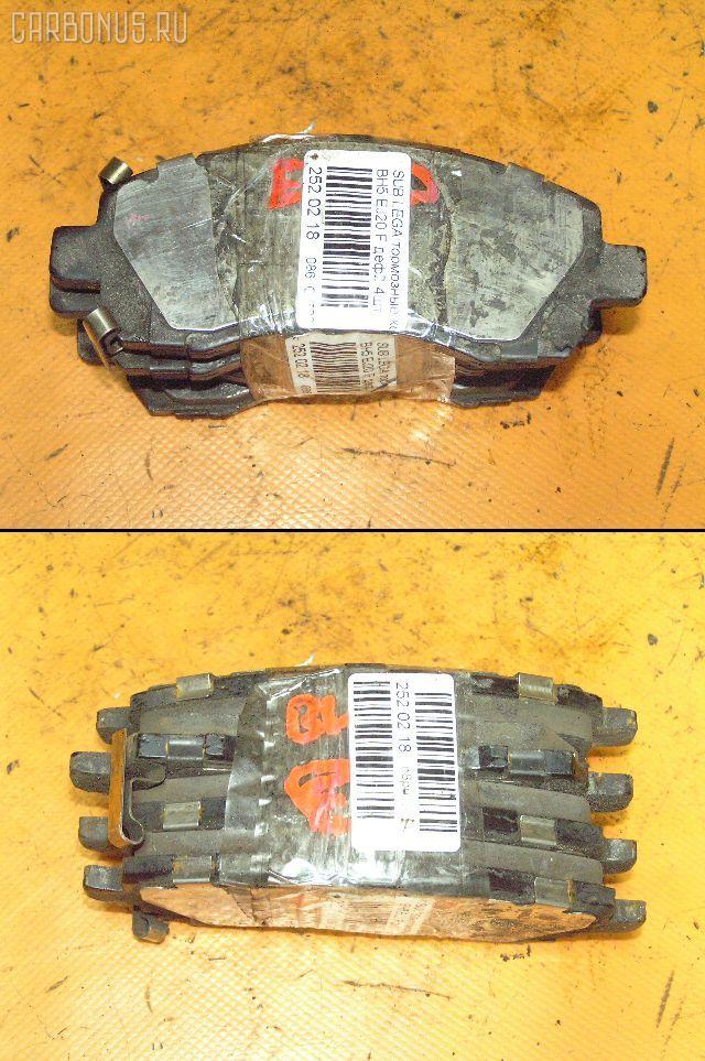 Тормозные колодки SUBARU LEGACY WAGON BH5 EJ20. Фото 2