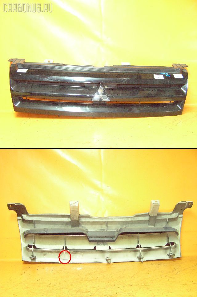 Решетка радиатора MITSUBISHI MIRAGE DINGO CQ2A. Фото 1