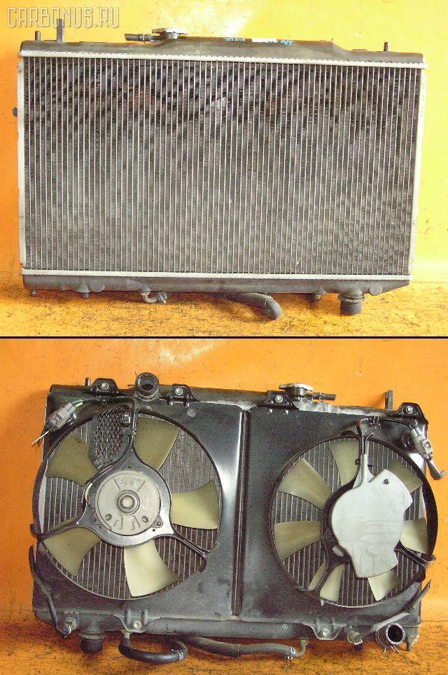 Радиатор ДВС TOYOTA CALDINA ST215W 3S-GTE. Фото 1