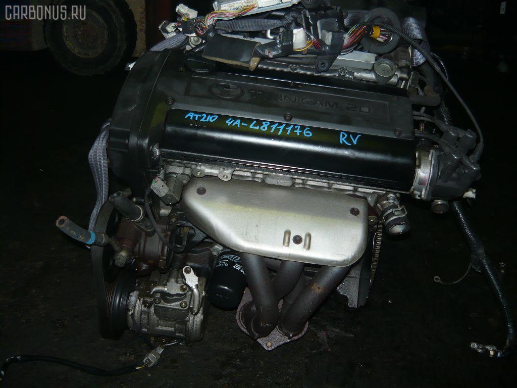 Двигатель TOYOTA SPRINTER CARIB AE111G 4A-GE. Фото 2