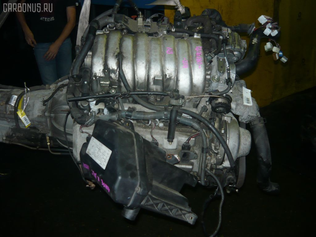 Двигатель TOYOTA CROWN MAJESTA UZS171 1UZ-FE. Фото 3