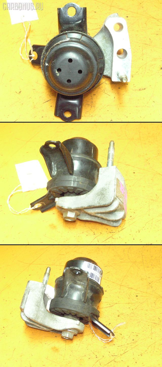 Подушка двигателя TOYOTA PASSO KGC10 1KR-FE. Фото 1