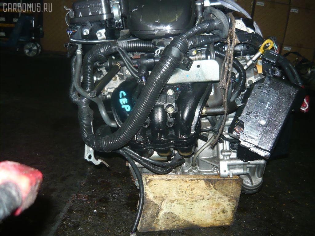 Двигатель TOYOTA PASSO KGC10 1KR-FE. Фото 4