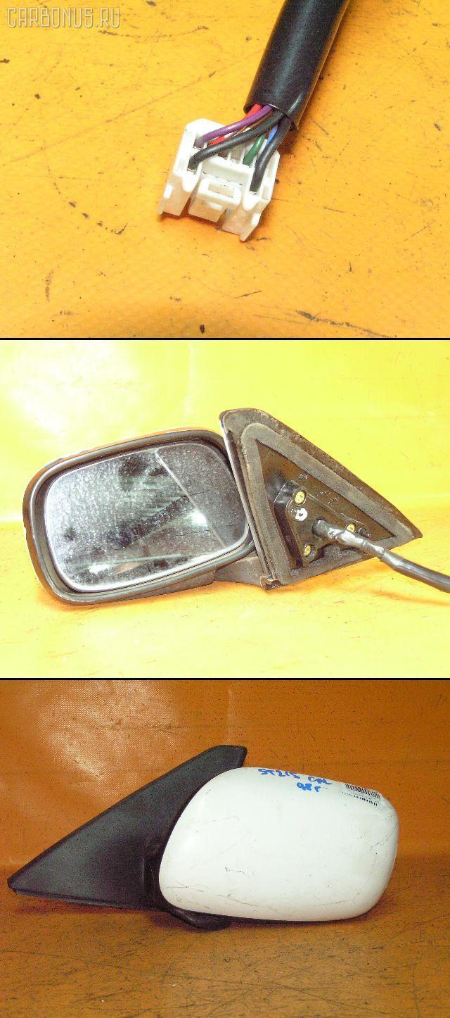 Зеркало двери боковой TOYOTA CALDINA ST215W. Фото 2