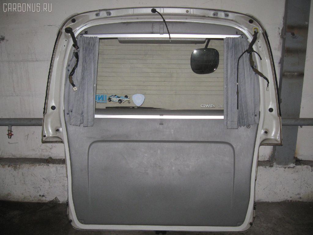 Дверь задняя TOYOTA HIACE REGIUS KCH46G. Фото 2