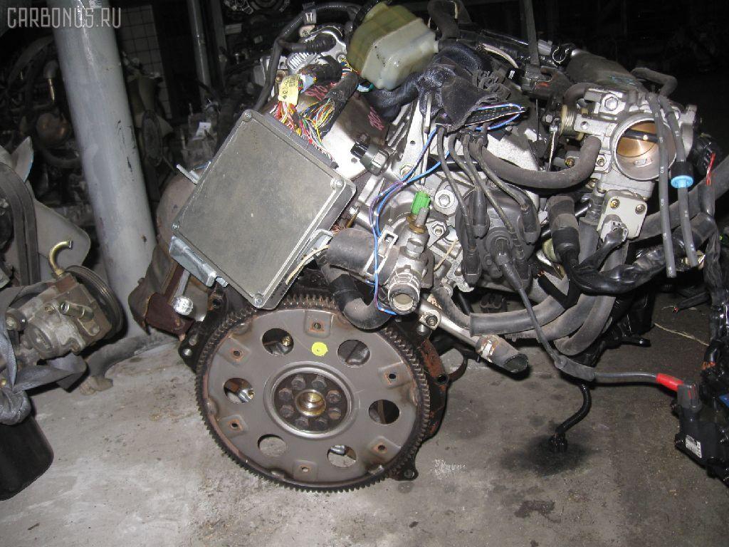 Двигатель TOYOTA CALDINA ST190G 4S-FE. Фото 4