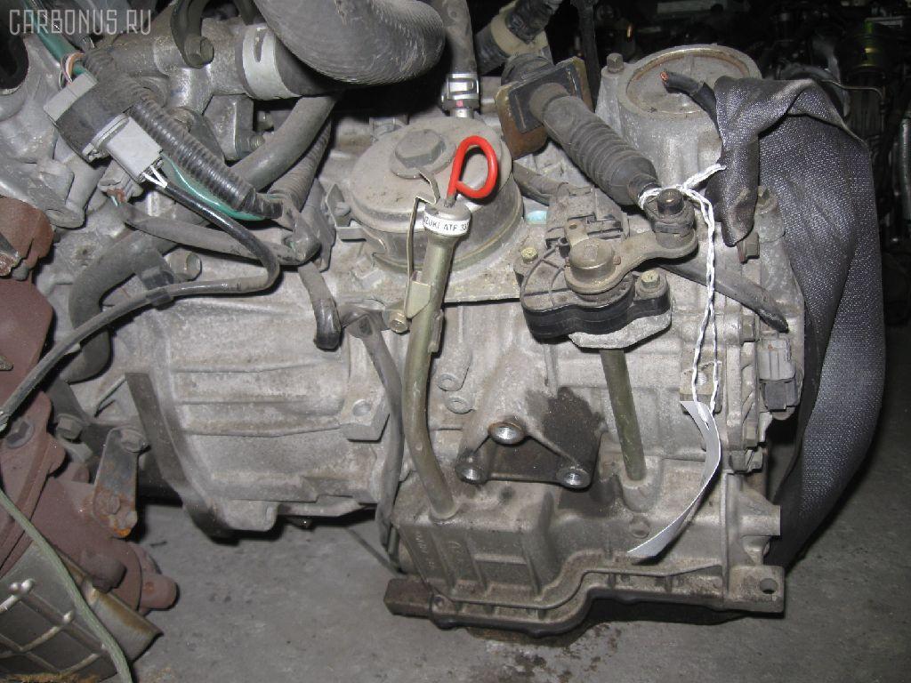 КПП автоматическая SUZUKI WAGON R SOLIO MA64S K10A. Фото 10