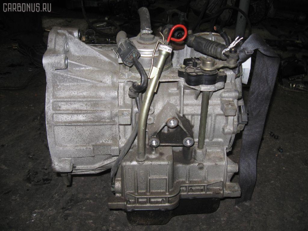 КПП автоматическая SUZUKI WAGON R SOLIO MA64S K10A. Фото 6