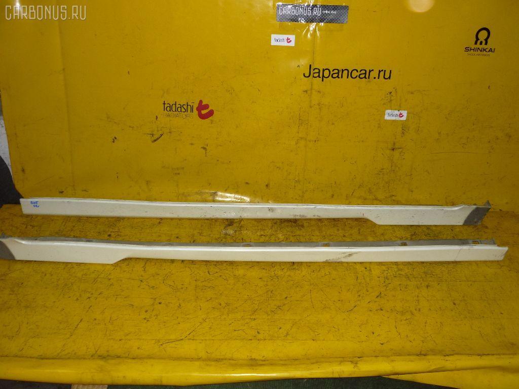 Порог кузова пластиковый ( обвес ) SUBARU LEGACY LANCASTER BHE. Фото 1