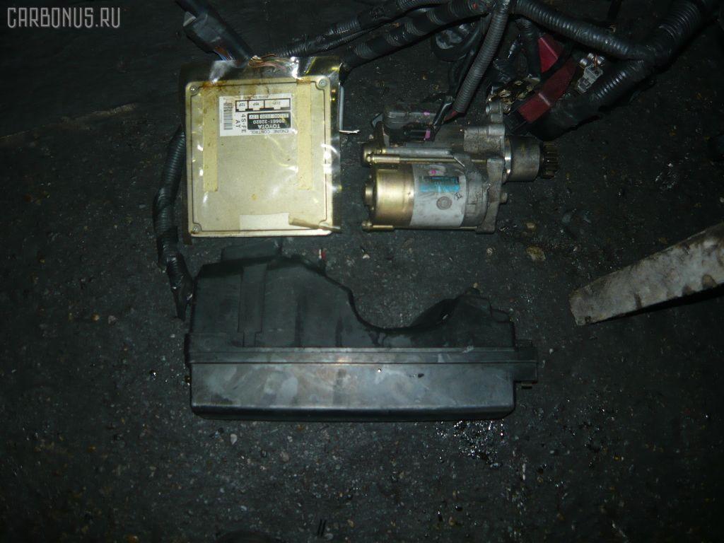 Двигатель TOYOTA CALDINA ST190G 4S-FE. Фото 2