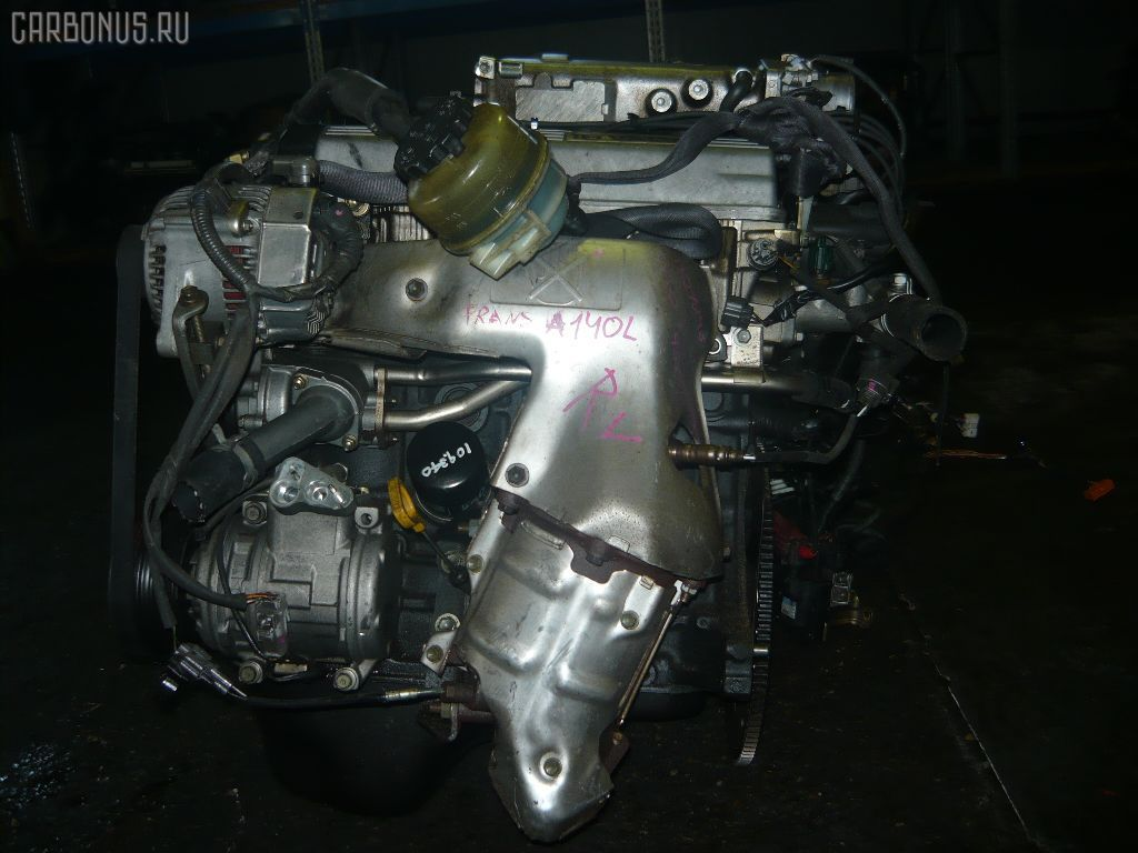 Двигатель TOYOTA CALDINA ST190G 4S-FE. Фото 5