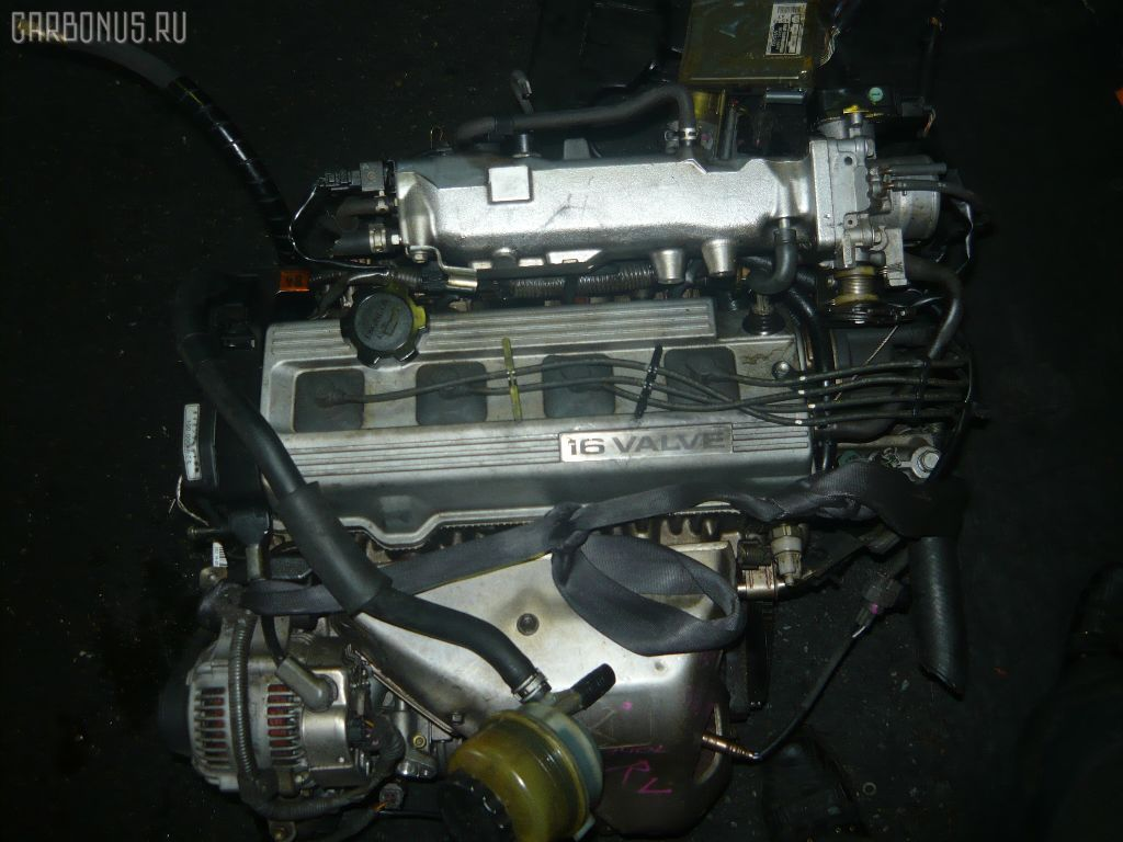 Двигатель TOYOTA CAMRY SV30 4S-FE. Фото 7