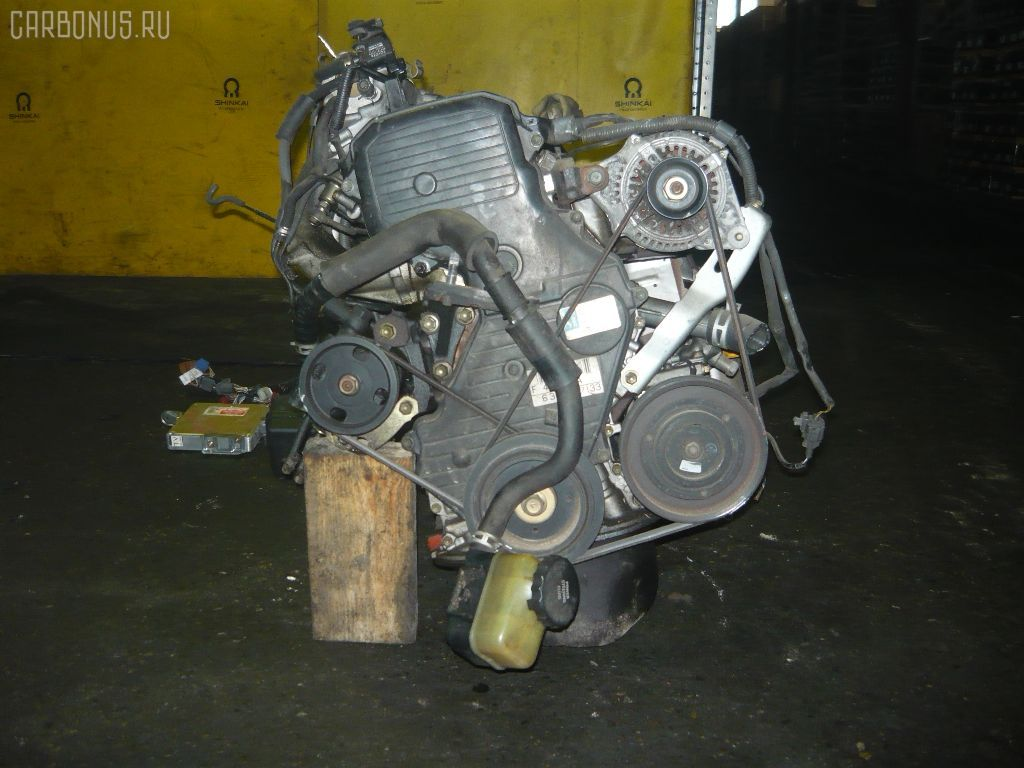 Двигатель TOYOTA CALDINA ST190G 4S-FE. Фото 7