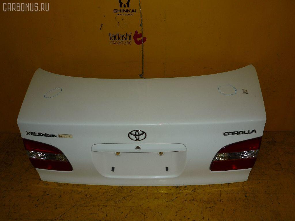Крышка багажника TOYOTA COROLLA AE114. Фото 10