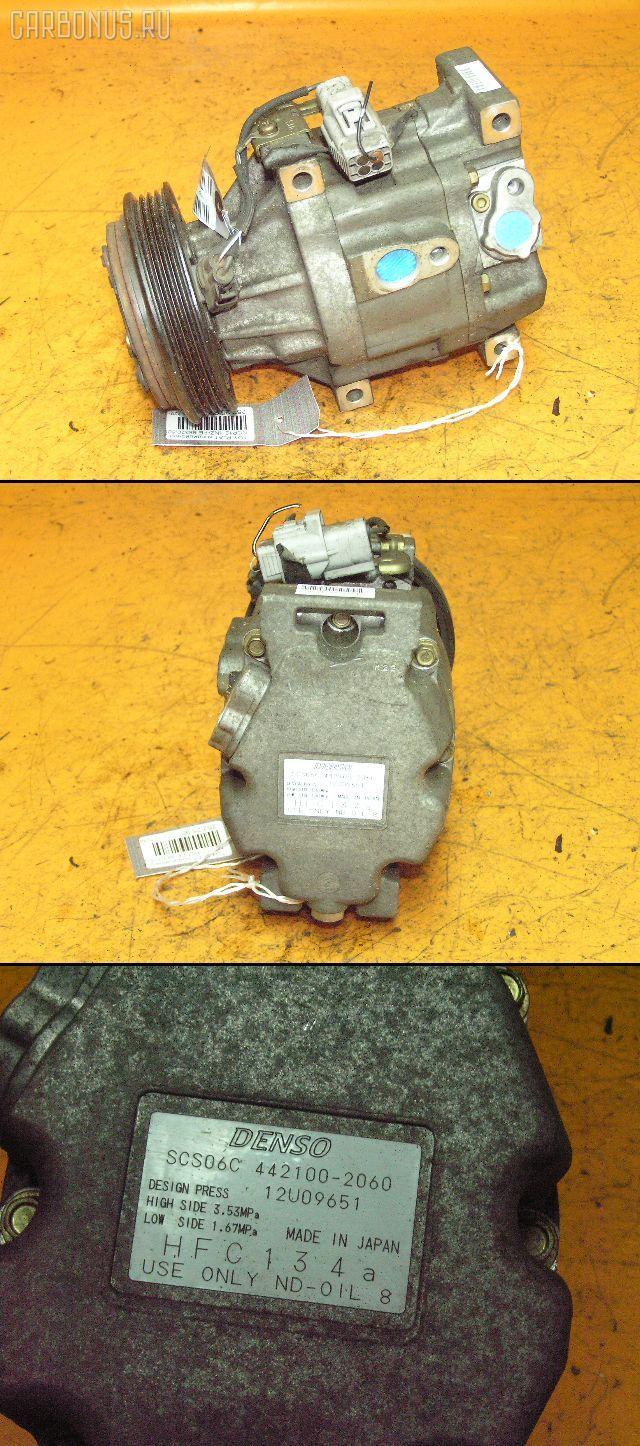 Компрессор кондиционера TOYOTA PLATZ NCP12 1NZ-FE. Фото 1