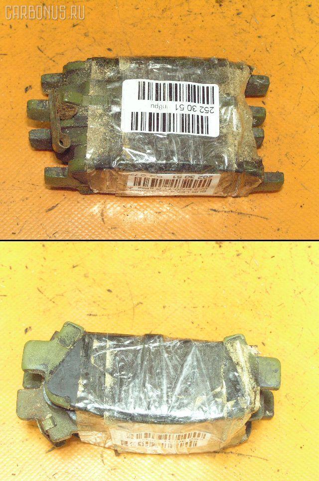 Тормозные колодки SUBARU LEGACY B4 BE5 EJ20-TT. Фото 1