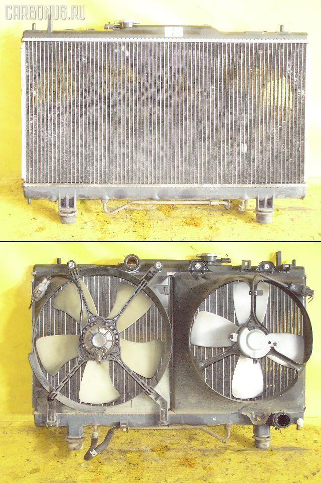 Радиатор ДВС TOYOTA CALDINA ST210G 3S-FE. Фото 5
