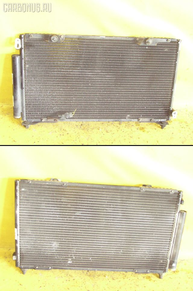 Радиатор кондиционера TOYOTA CALDINA ST210G 3S-FE. Фото 2