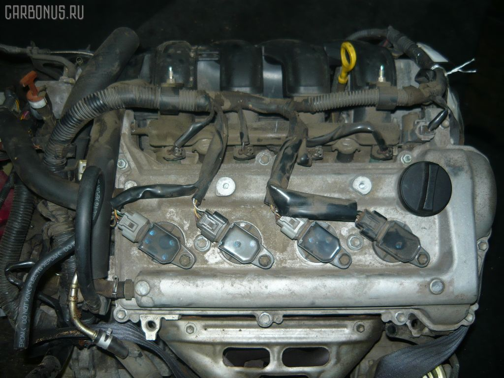 Двигатель TOYOTA FUNCARGO NCP21 1NZ-FE. Фото 7