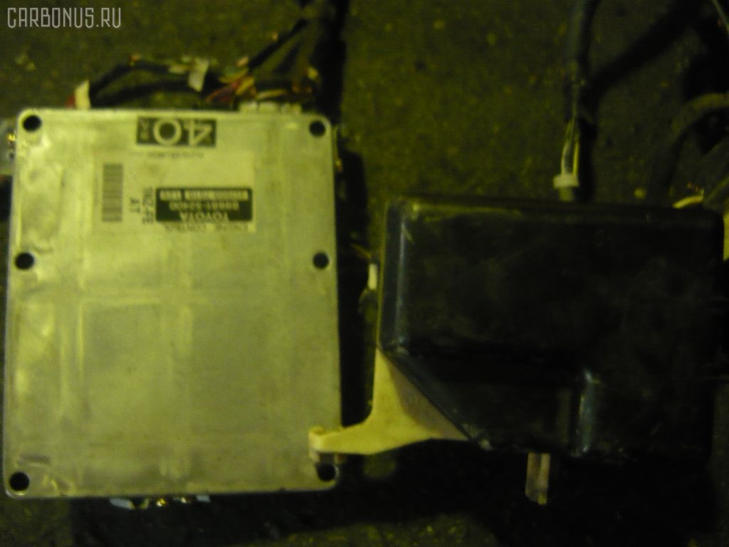 Двигатель TOYOTA FUNCARGO NCP21 1NZ-FE. Фото 1