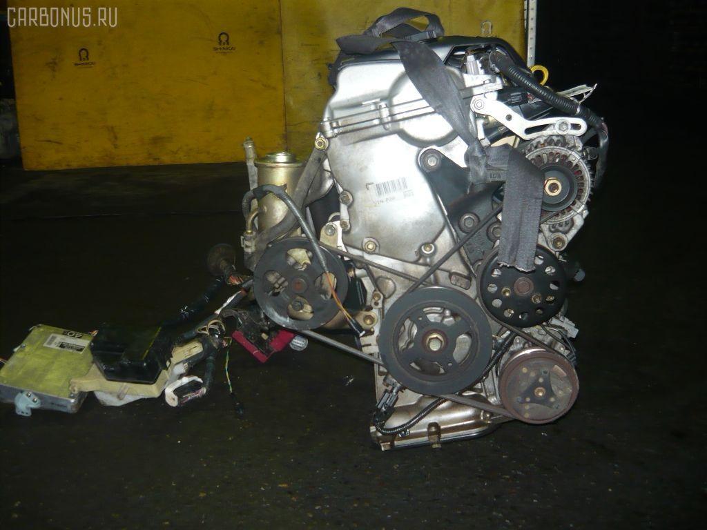 Двигатель TOYOTA FUNCARGO NCP21 1NZ-FE. Фото 2