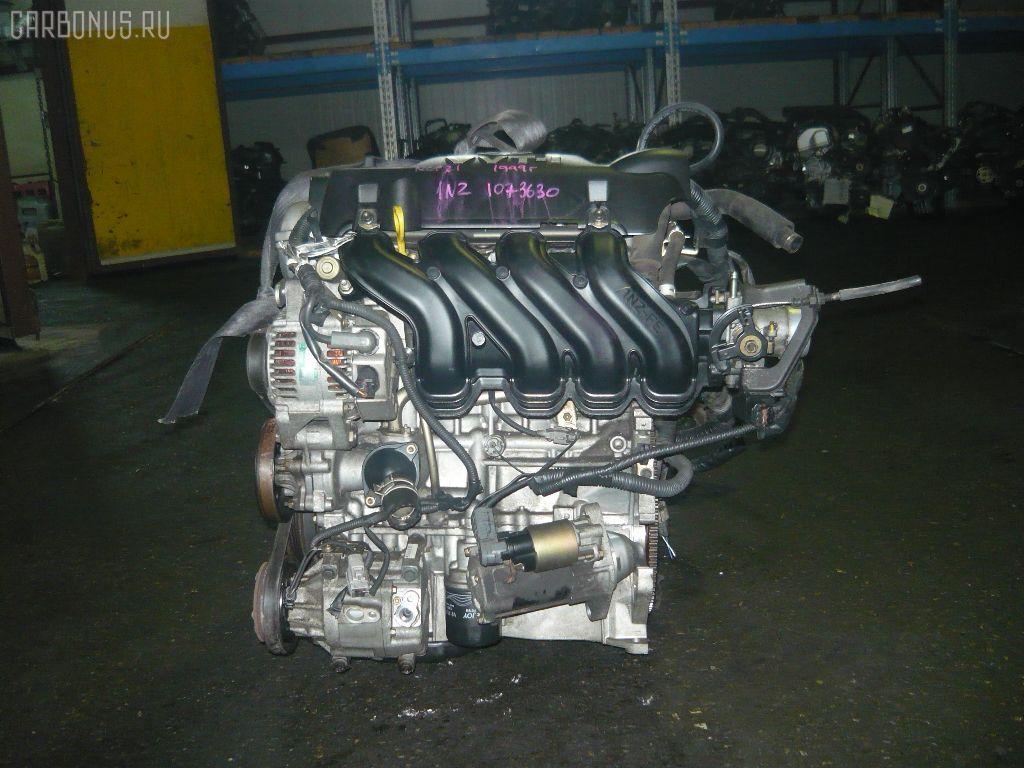 Двигатель TOYOTA FUNCARGO NCP21 1NZ-FE. Фото 4