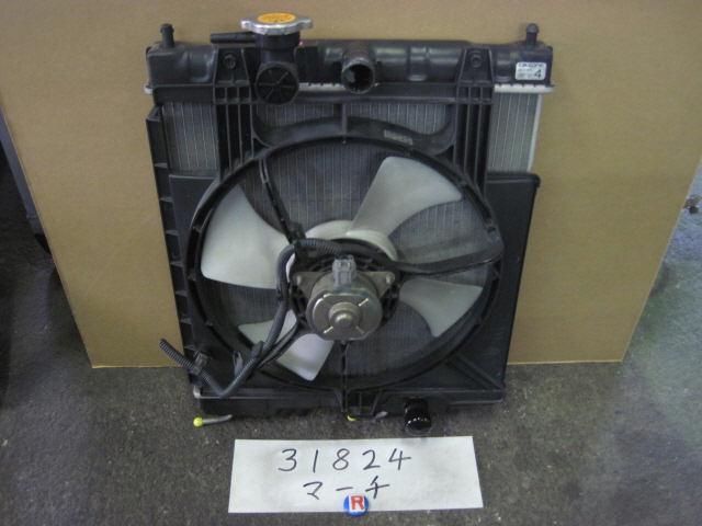 Радиатор ДВС NISSAN MARCH K11 CG10DE. Фото 4