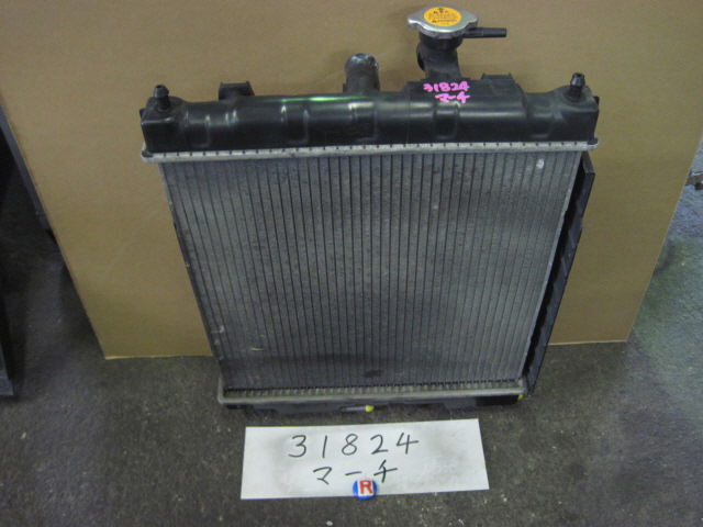 Радиатор ДВС NISSAN MARCH K11 CG10DE. Фото 3