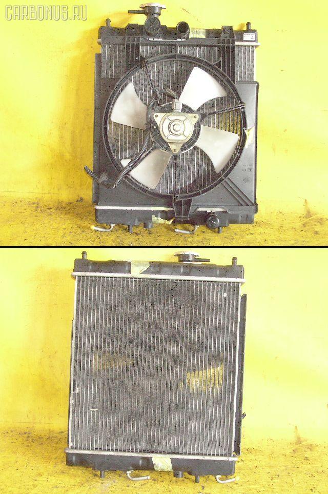 Радиатор ДВС NISSAN MARCH K11 CG10DE. Фото 1