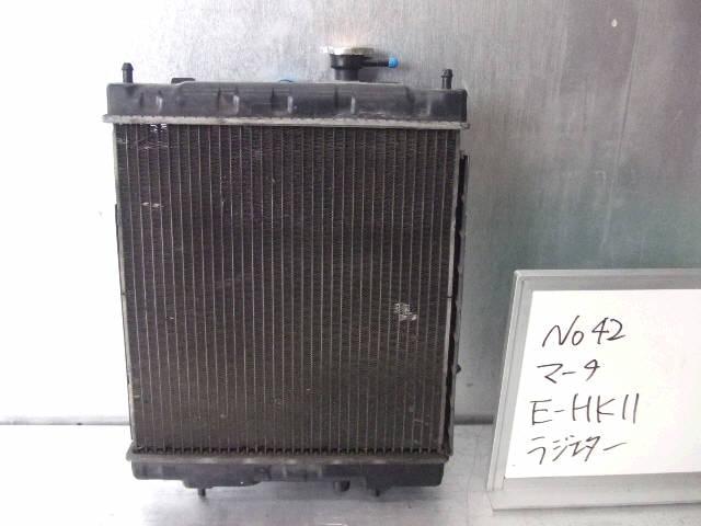Радиатор ДВС NISSAN MARCH HK11 CG13DE. Фото 6