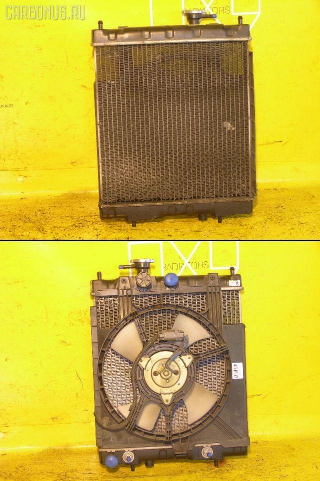Радиатор ДВС NISSAN MARCH HK11 CG13DE. Фото 3