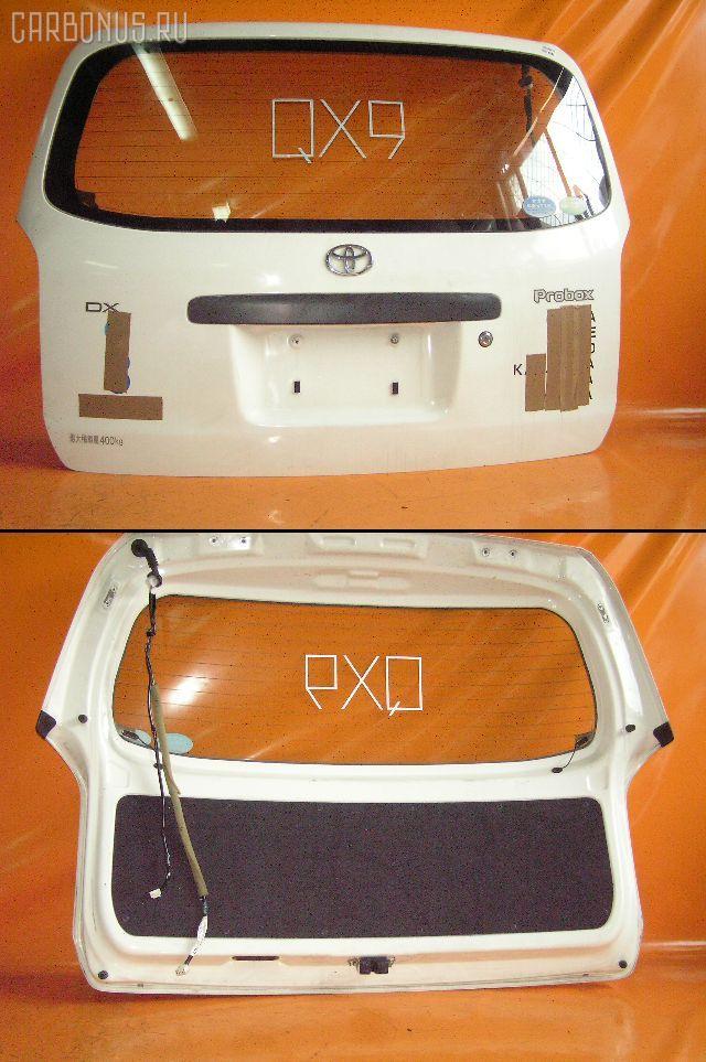 Дверь задняя TOYOTA PROBOX NCP50V. Фото 11