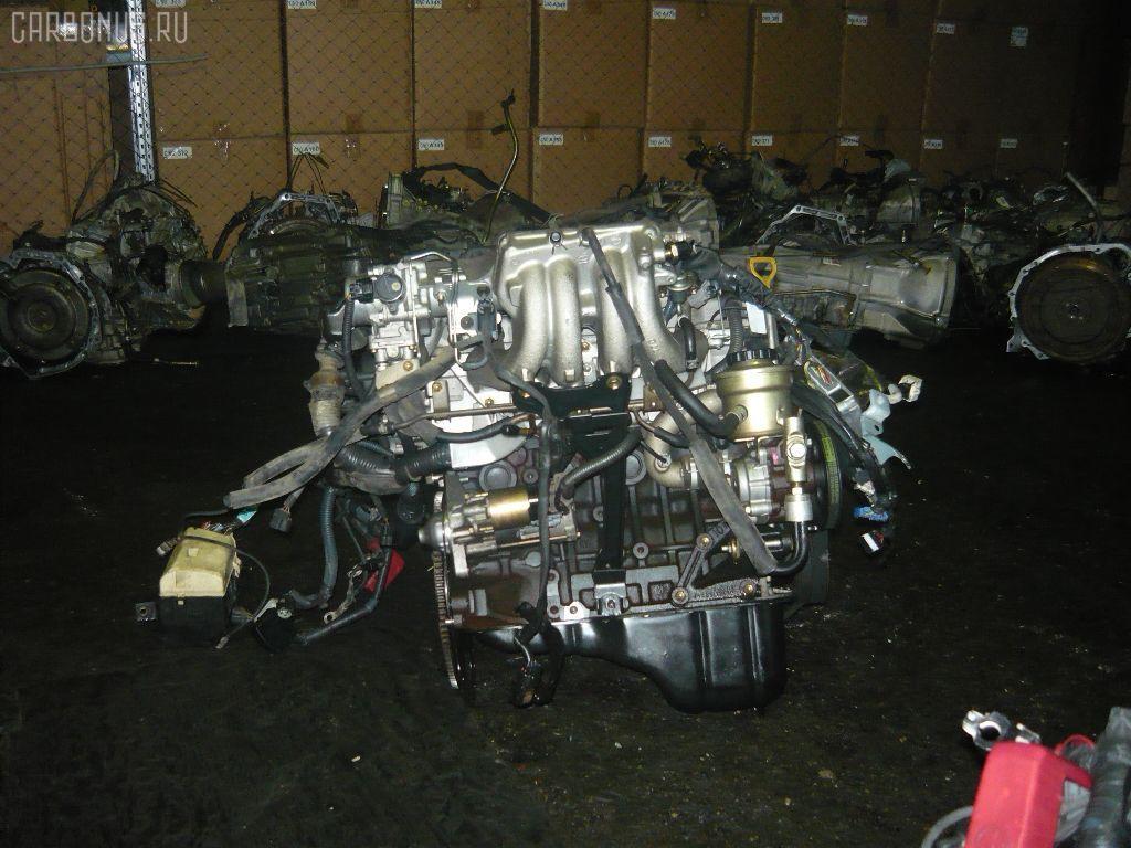 Двигатель TOYOTA COROLLA SPACIO AE111N 4A-FE. Фото 8