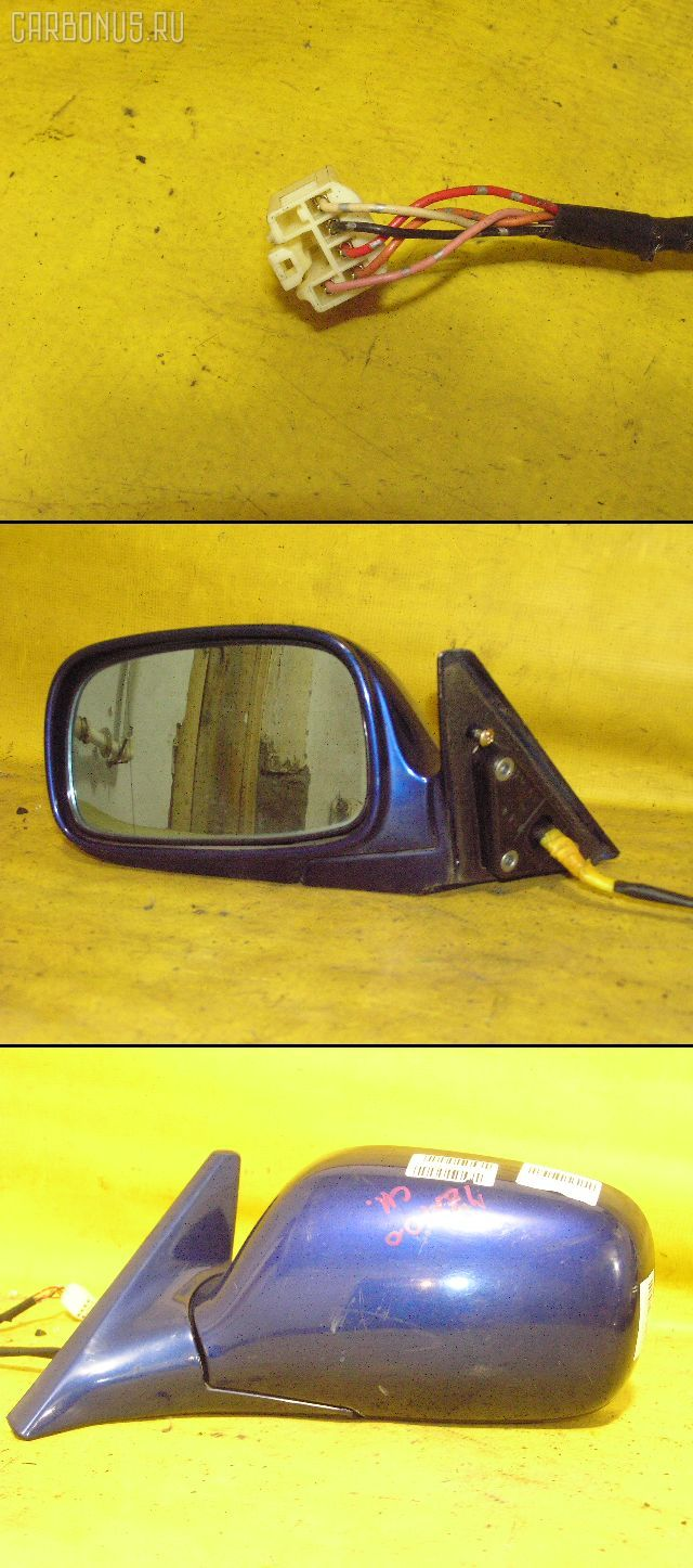 Зеркало двери боковой TOYOTA CHASER JZX100. Фото 5