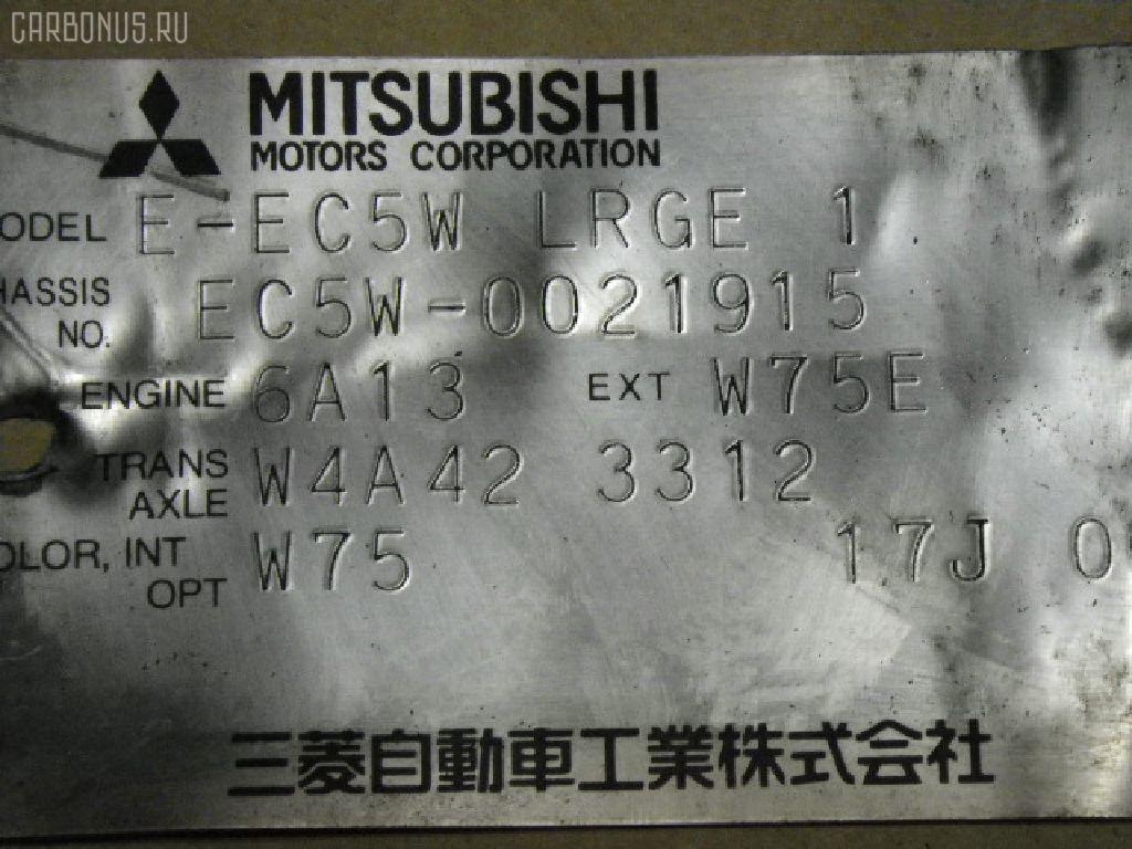 КПП автоматическая MITSUBISHI LEGNUM EC5W 6A13 Фото 4