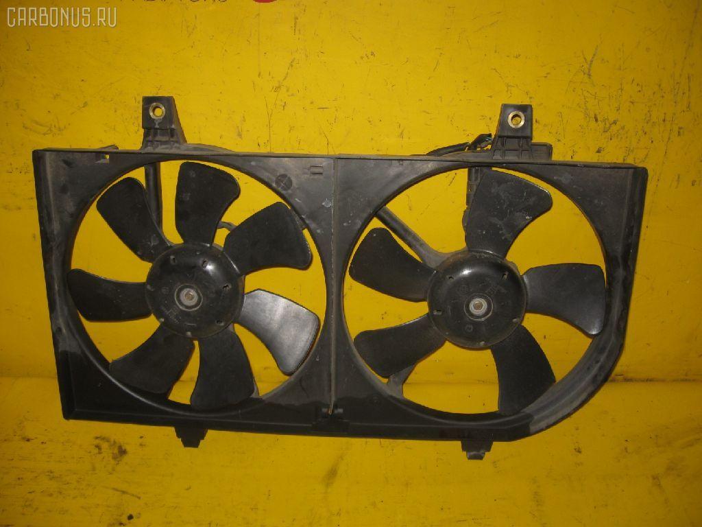 Вентилятор радиатора ДВС NISSAN WINGROAD WHNY11 QG18DE. Фото 2
