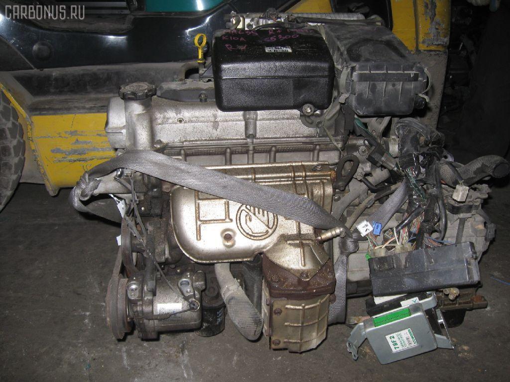 Двигатель SUZUKI WAGON R PLUS MA63S K10A. Фото 3