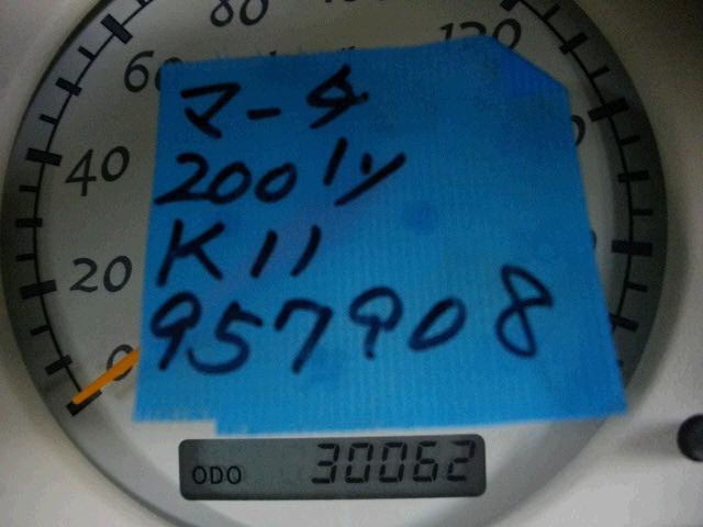 Радиатор ДВС NISSAN MARCH K11 CG10DE. Фото 6
