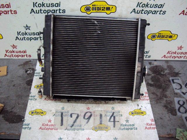 Радиатор ДВС NISSAN MARCH K11 CG10DE. Фото 9