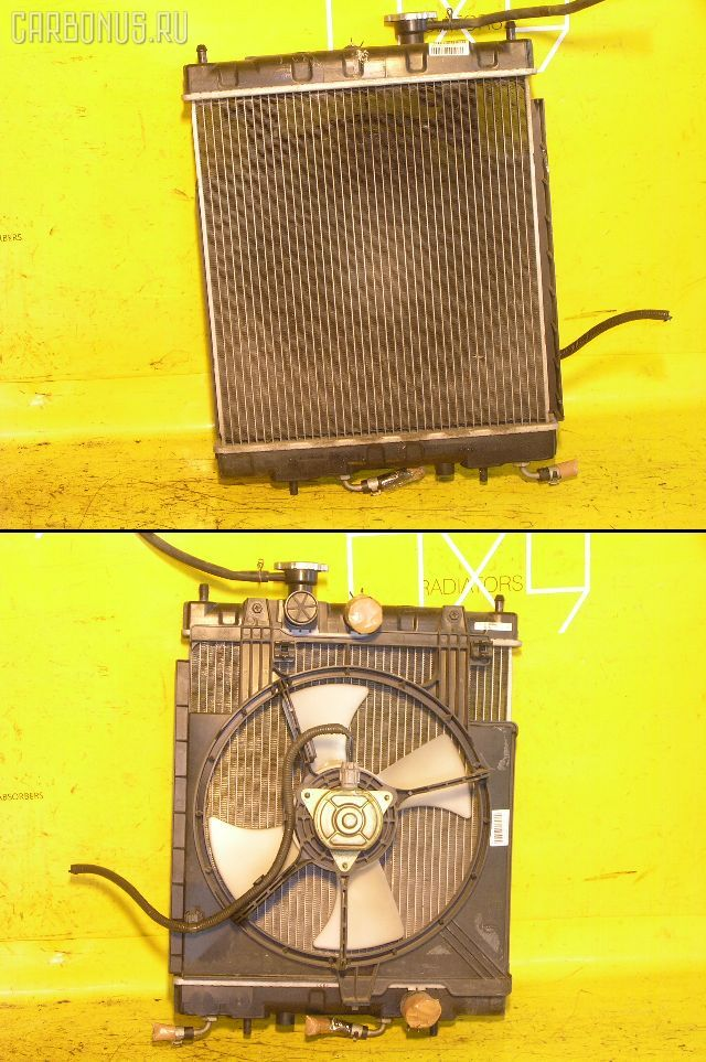 Радиатор ДВС NISSAN MARCH K11 CG10DE. Фото 8