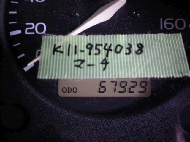 Радиатор ДВС NISSAN MARCH K11 CG10DE. Фото 11