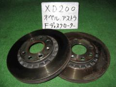 Тормозной диск OPEL ASTRA F W0L000056 C20NE Фото 4