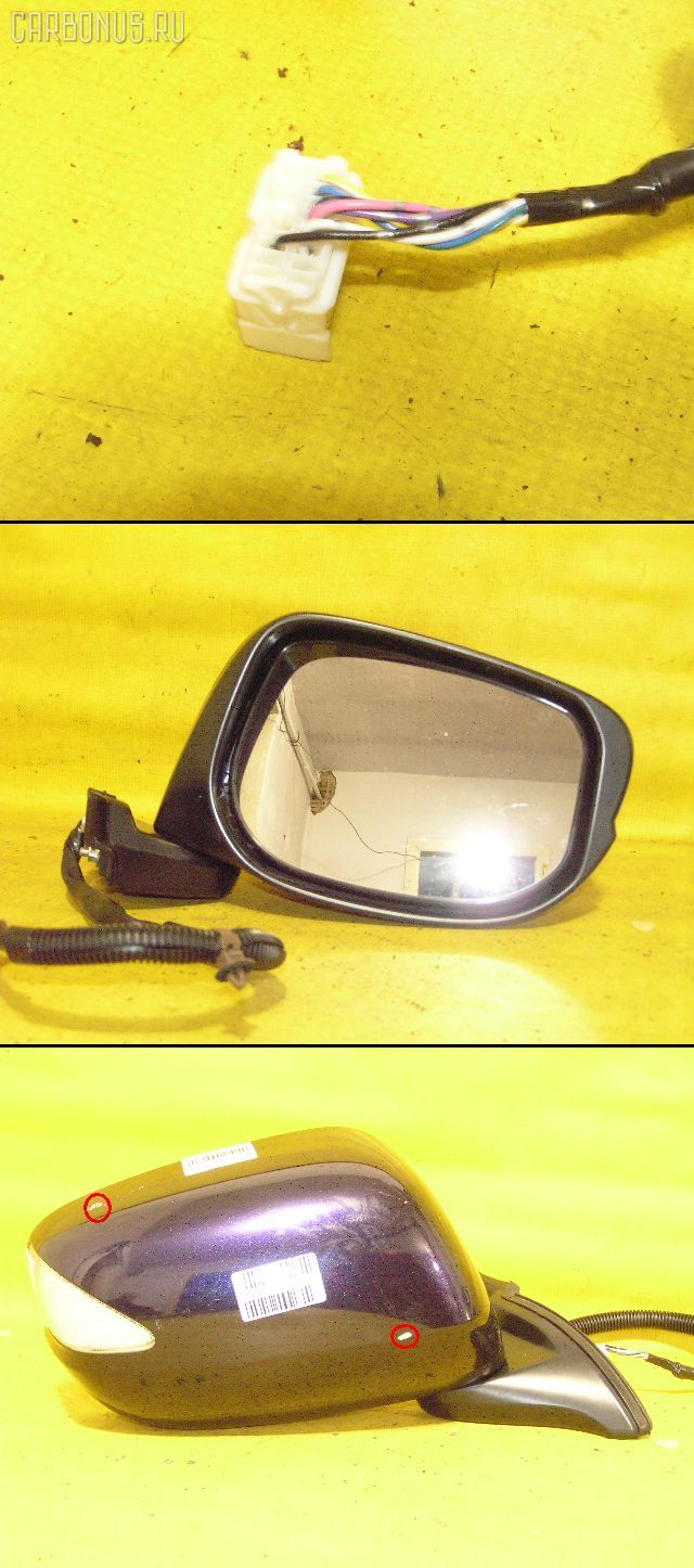 Зеркало двери боковой HONDA FIT GE6. Фото 7