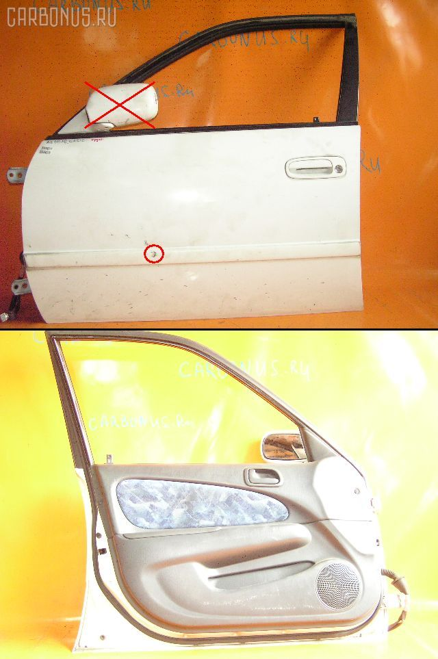 Дверь боковая TOYOTA SPRINTER CARIB AE115G. Фото 2